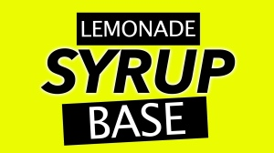 Lemonade Syrup Base © 2018 ericarobbin.com | All rights reserved.