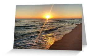 Florida sunset greeting card © 2018 ericarobbin.com   All rights reserved.
