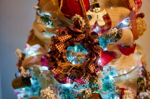 Mason jar ring Christmas wreath © 2018 ericarobbin.com | All rights reserved.