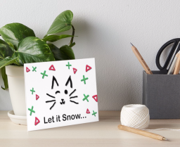 Let it Snow... iPhone Case © 2018 ericarobbin.com   All rights reserved.