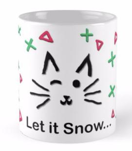 Let it Snow... Mug © 2018 ericarobbin.com   All rights reserved.